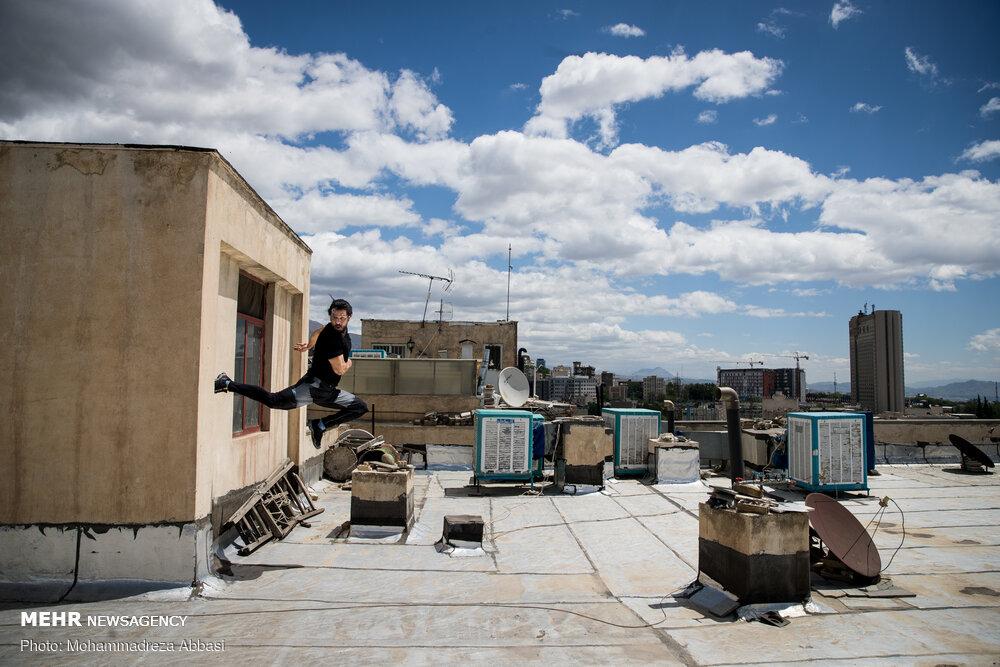 زمین تمرینی به وسعت بام های شهر
