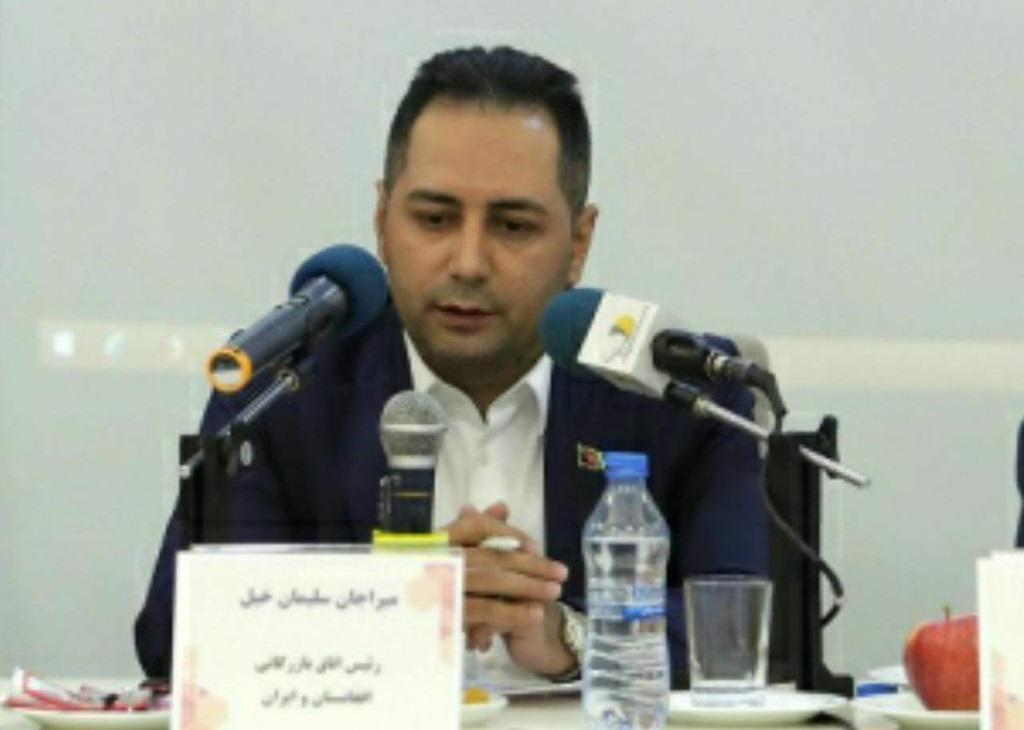 رییس اتاق مشترک ایران و افغانستان از همکارهای منطقه ویژه دوغارون تقدیر کرد