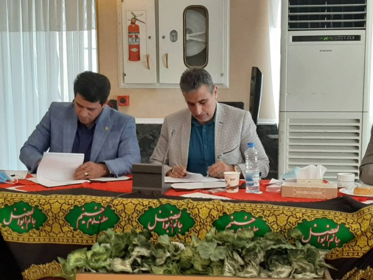 امضای تفاهم نامه مشترک بین سازمان منطقه آزاد اروند و کمیسیون گردشگری اتاق بازرگانی ایران
