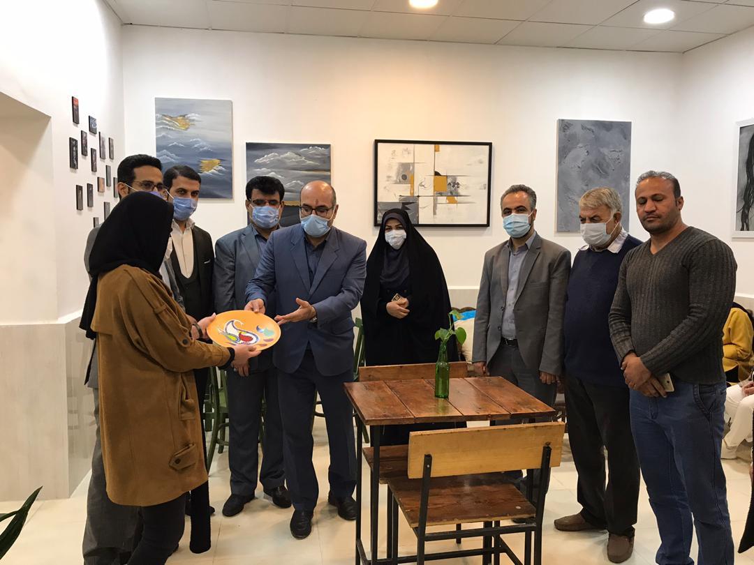 افتتاح خانه هنر «مان» در خرمشهر