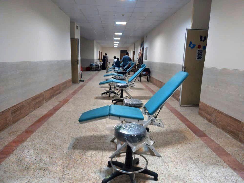ویزیت رایگان دندان پزشکی با مشارکت منطقه آزاد چابهار و موسسات خیریه