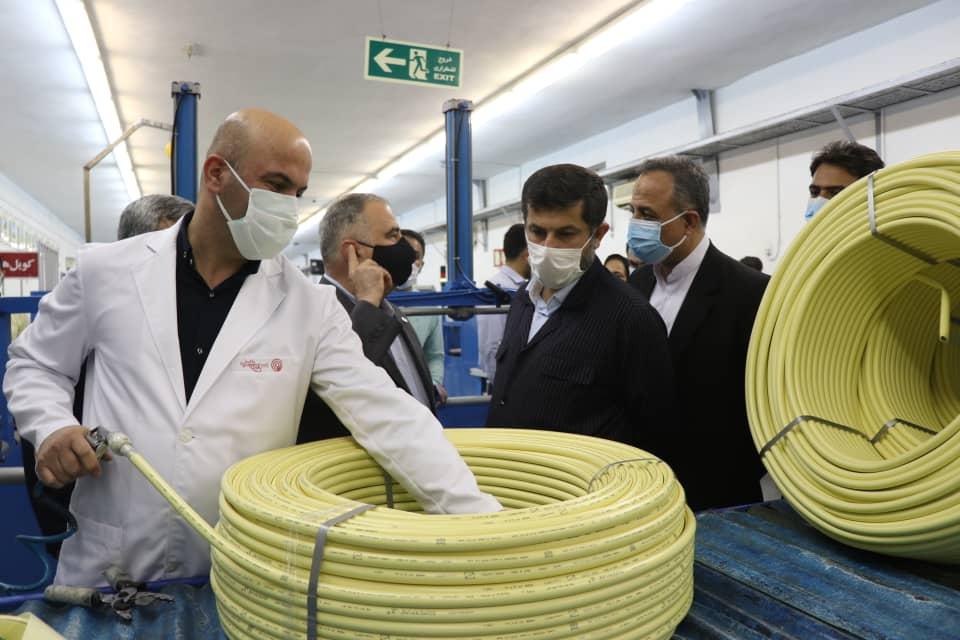 رییس سازمان ملی استاندارد ایران از 5واحد صنعتی و یک اسکله باری و مسافری منطقه آزاد قشم بازدید کرد