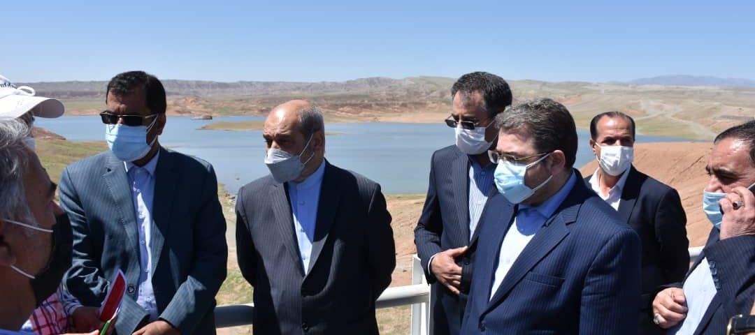بازدید مشاور رئیس جمهور از پروژه بزرگ «سد کرم آباد» منطقه آزاد ماکو