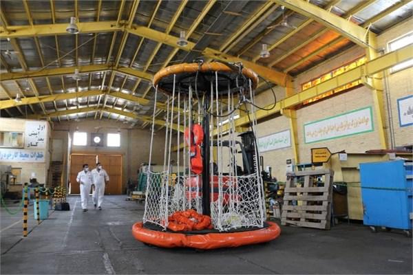 بومیسازی دستگاه حمل نفر در سکوهای گازی پارس جنوبی