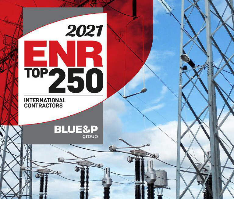 گروه بلواندپی در فهرست ۲۵۰ پیمانکار برتر بینالمللی سال ۲۰۲۱