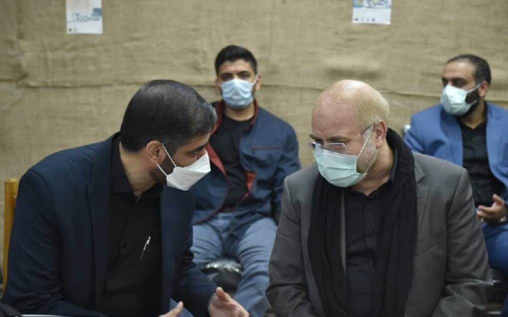 دیدار سعید محمد و قالیباف در مشهد